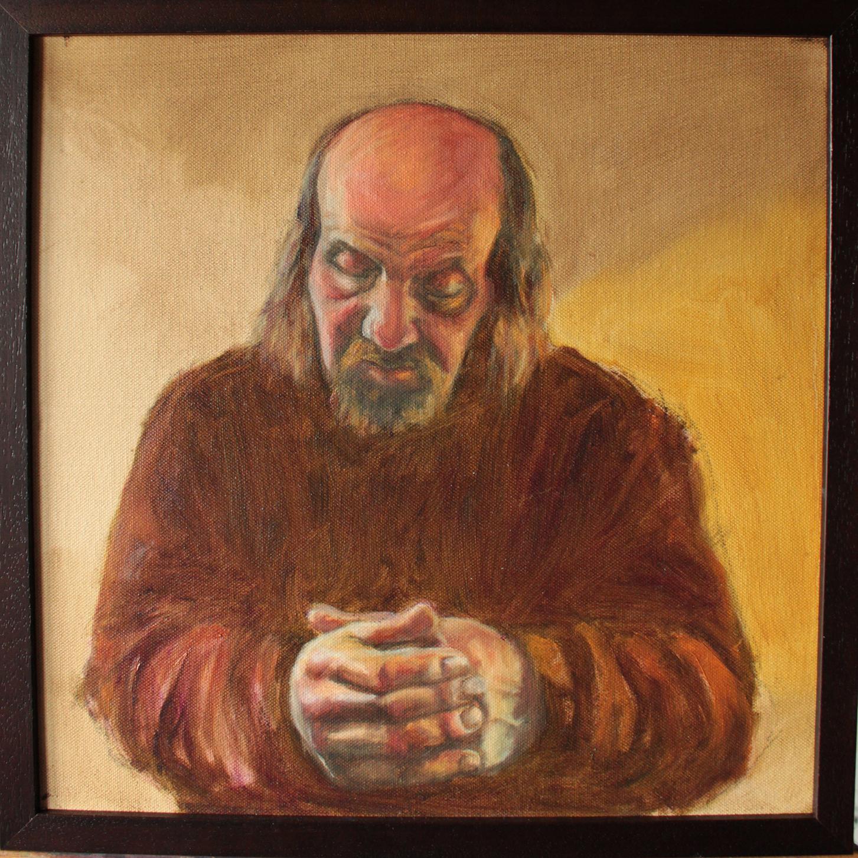 oil painting, figure, portrait, colourful