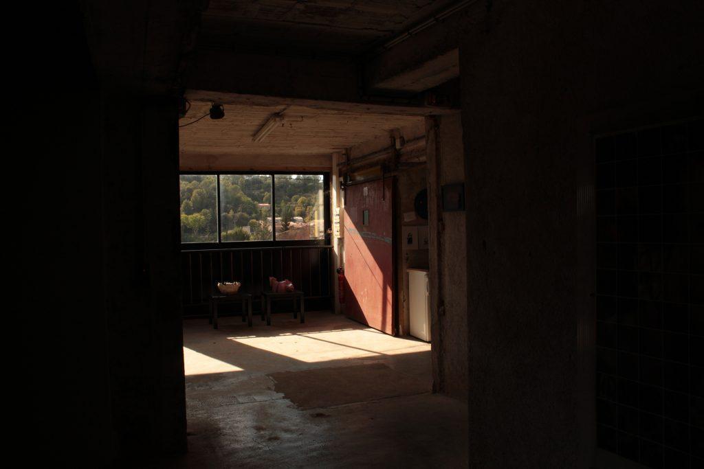 Derelict Industrial interior