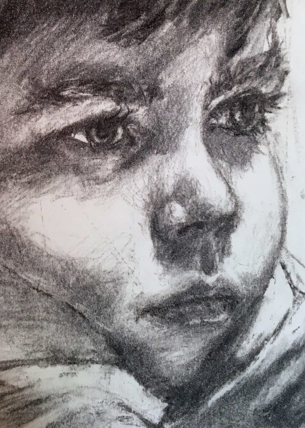 charcoal drawing- portrait - gift certificate - Orlaith Cullinane