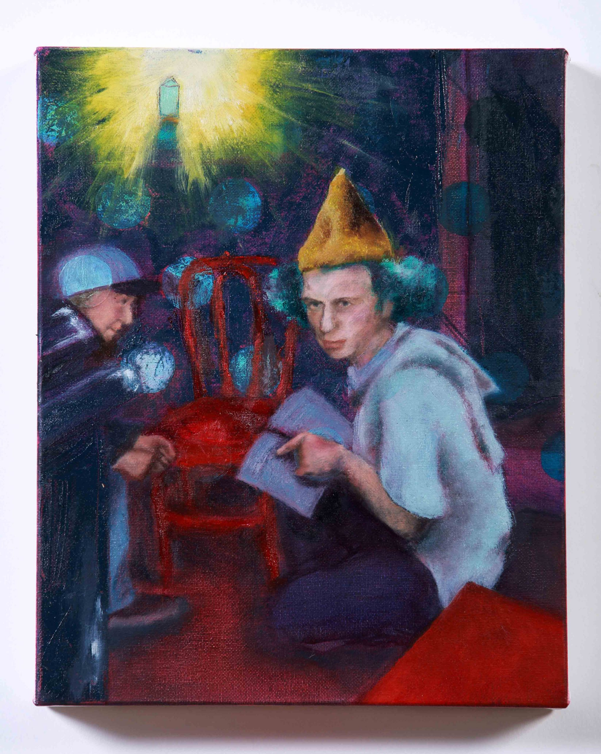 Smoke-Break-Prophet_oil-painting_Orlaith-Cullinane_Irish-Art