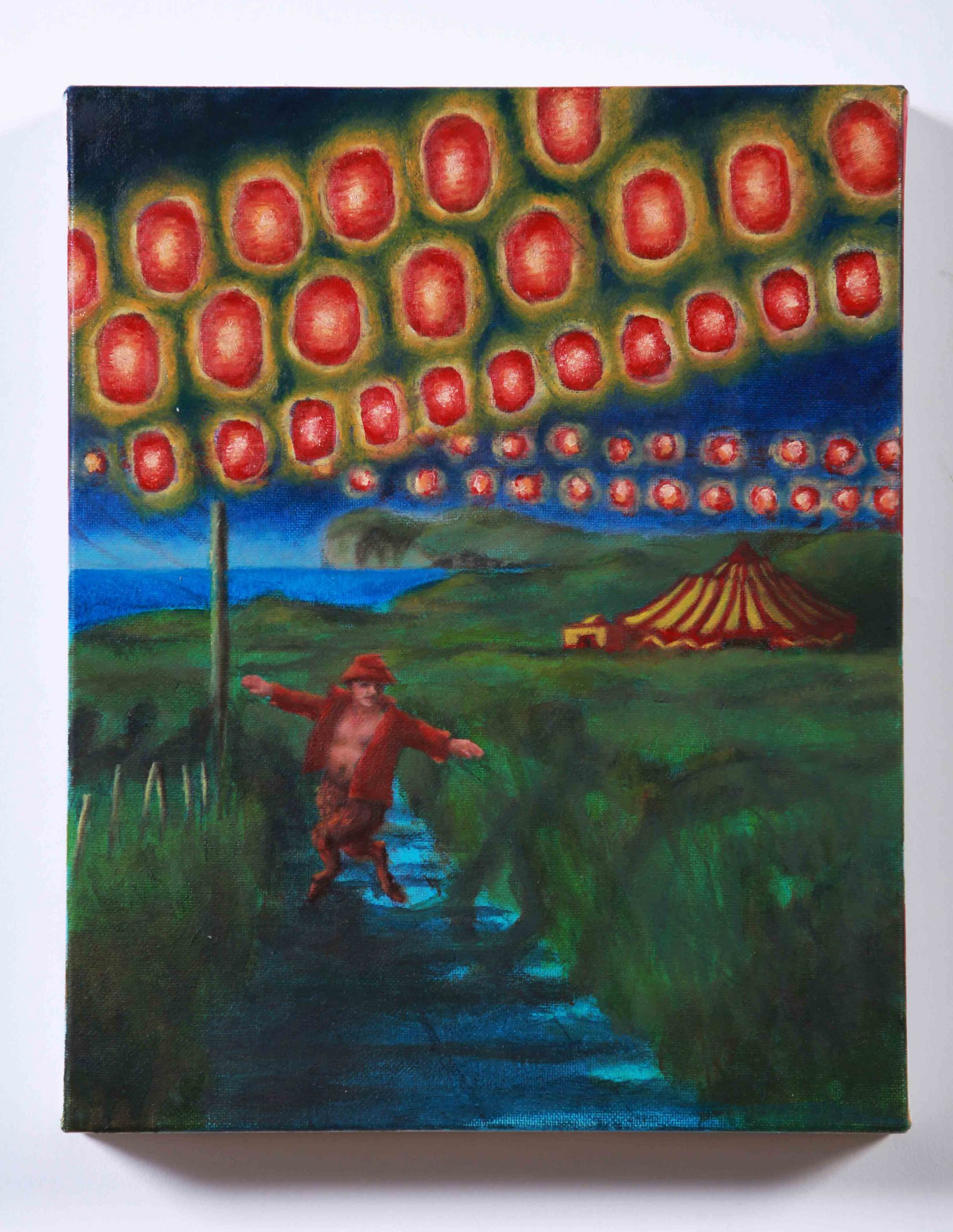 The-Ginger-Satyr_oil-painting_Orlaith-Cullinane_Irish-Art